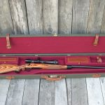 Canvas and Leather gun case Rifle 955
