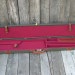 Canvas and leather gun case Sharps 963 2