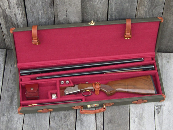 canvas gun case 2bbl 2