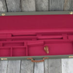 canvas gun case trap two barrel