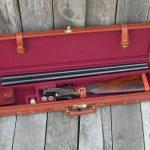 Leather gun case 989 sxs 2
