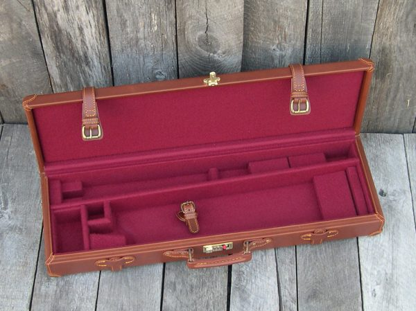 leather gun case double rifle 1010 2