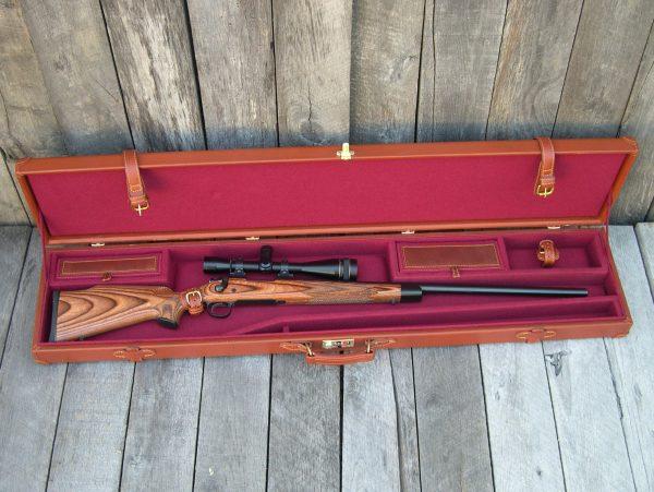 leather gun case rifle 955